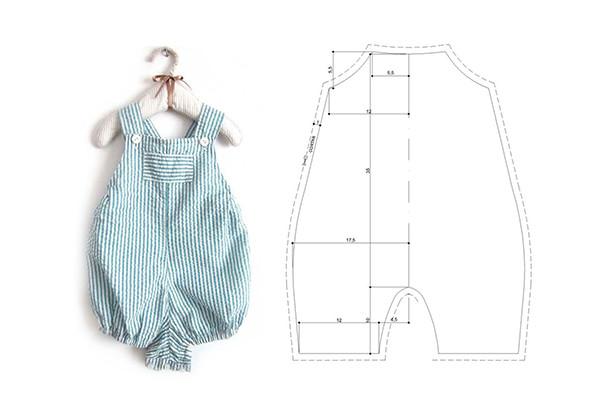 confeccionar moda infantil petos