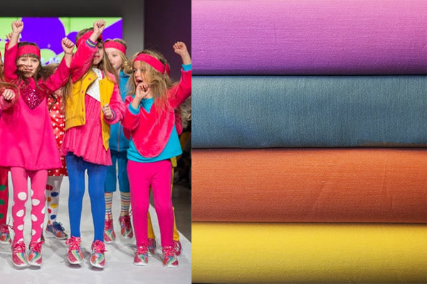 Tendencias en moda infantil: colores