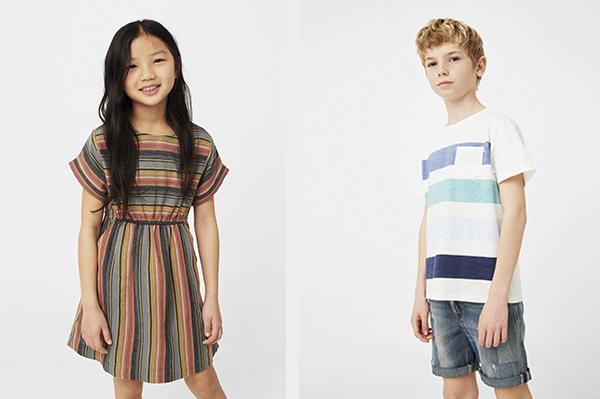 coleccion moda infantil primavera mango