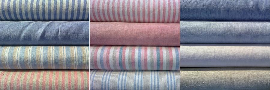 tejidos para moda infantil de lino