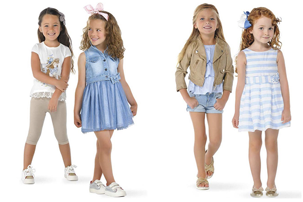 tendencias primavera de moda infantil