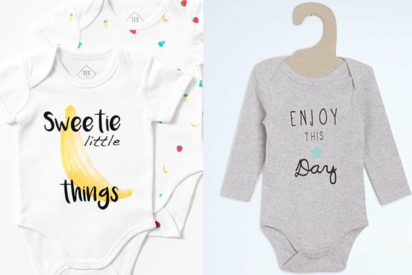 nueva tendencia de moda infantil ropa con mensajes