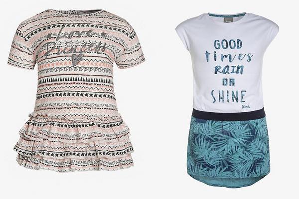 nueva tendencia de moda infantil vestidos