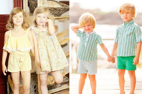 moda infantil de verano 2017