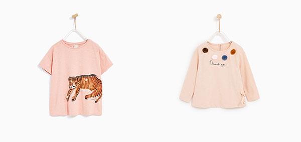 pompones en la ropa de niños verano