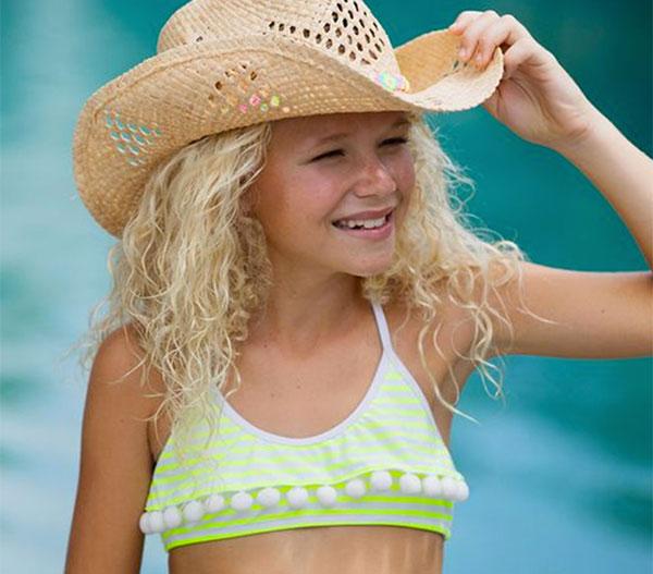 pompones para ropa de niños y bañadores