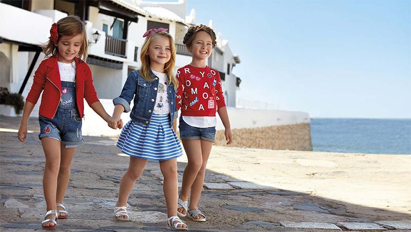 moda infantil primavera verano 2017