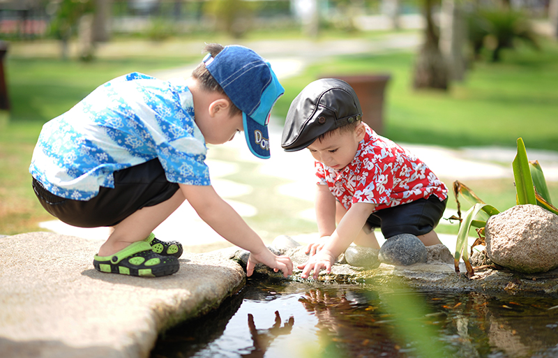 tejidos de moda infantil para verano