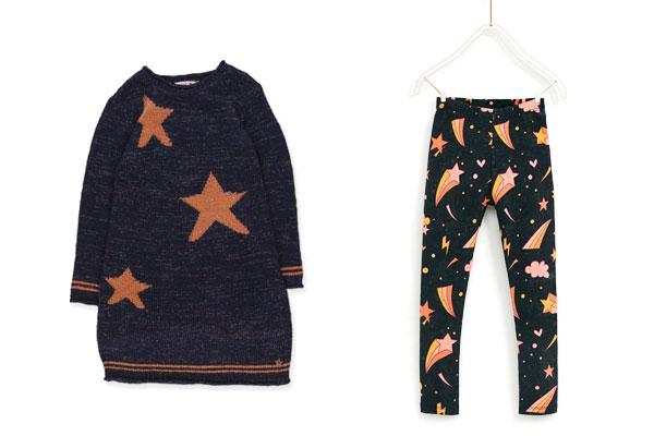 estampados de la ropa infantil-estrellas