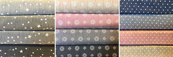 tejidos estampados de ropa infantil