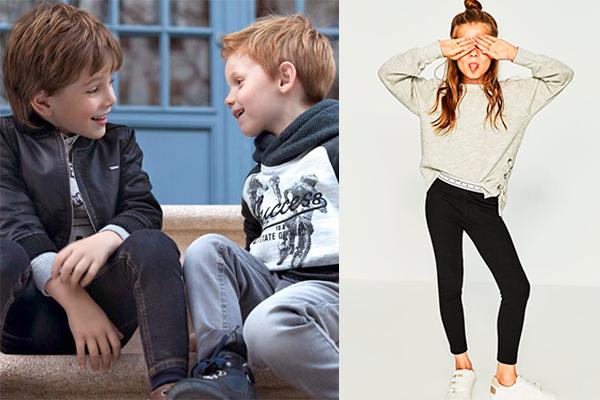 tendencia de moda infantil invierno