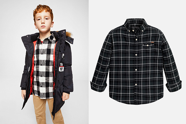 tendencia en moda infantil niño
