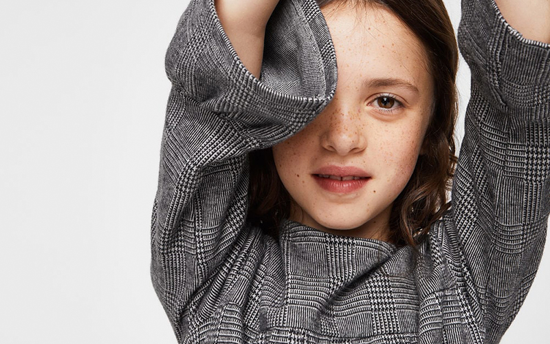 tendencias ropa infantil estampado principe de gales
