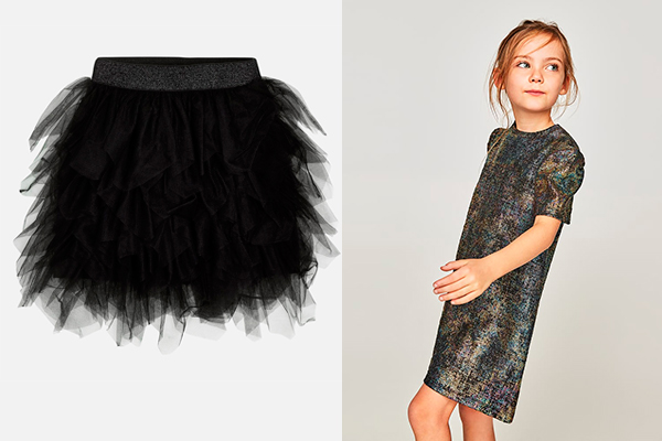 tendencias moda infantil faldas