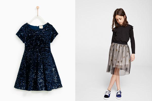 tendencias moda infantil vestidos