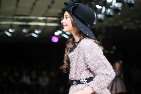 The golden age se celebra en una de las ferias de moda textil infantil: Pitti Bimbo