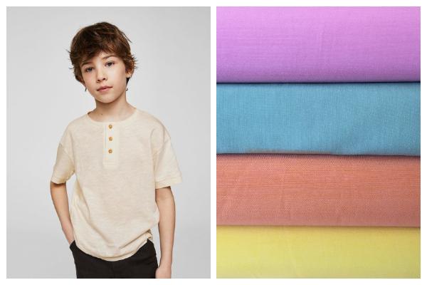 tejidos de moda infantil algodon