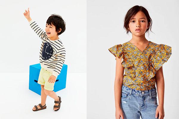 colores de moda infantil llamativos