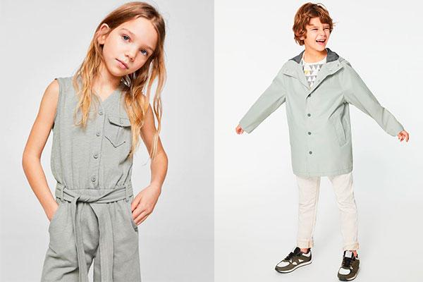 colores de moda infantil unisex