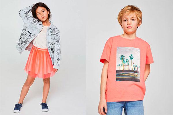 colores de moda infantil alegres