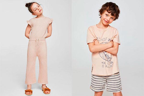 colores de moda infantil para niño y niña