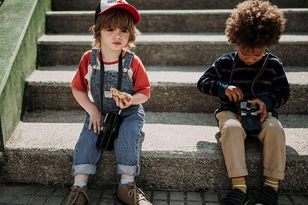 moda infantil otoño niños