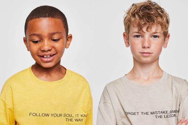 moda infantil otoño camisetas